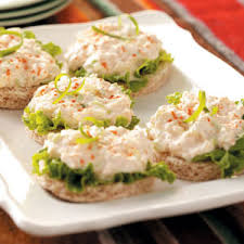 crab canapes crab salad sandwich how to a crab salad