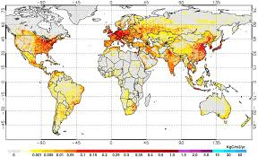 Northern Lights Map Global Carbon Dioxide Emissions In One Convenient Map Ars Technica