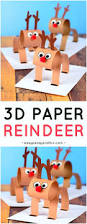 christmas crafts easy reindeer bookmarks fun topics for a research