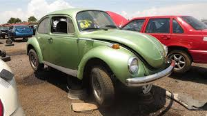 volkswagen beetle front view 1973 vw super beetle an engine fire sent this rust free example