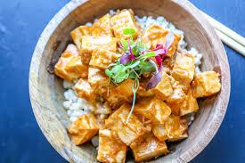 comment cuisiner le tofu tofu épicé sauce aux arachides la cuisine de jean philippe