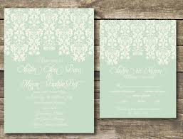 mint invites free printable invitation design