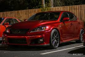isf lexus red sean jurina u0027s 2010 lexus is f