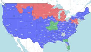 rochester ny tv guide nfl viewing guide week 6 tv coverage map