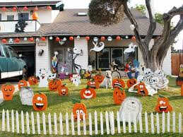 cool halloween yard decorations wooden halloween yard decorations