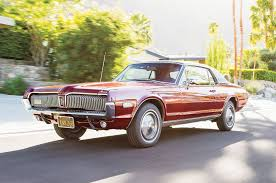 collectible classic 1967 1968 mercury cougar xr 7