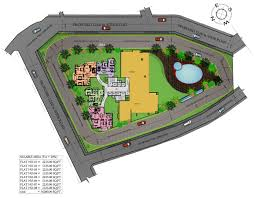House Floor Plan Solitaire Luxury Apartments In Hathill Mangalore Landtrades