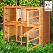 Double Rabbit Hutches Home U0026 Roost U2013 5ft Chartwell Double Luxury Rabbit Hutch