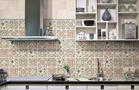 marocain de cuisine crédence cuisine carreaux de ciment patchwork et artistique