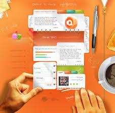 fresh list of most creative web design interfaces website