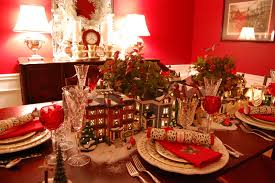 nice christmas table decorations christmas table decorations settings for your holiday dinner