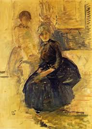 berthe morisot grain field c 1875 professional artist is the