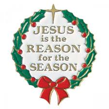 jesus is the reason for the season pin leaflet missal