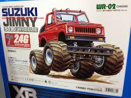suzuki monster truck tamiya 57835 110 rtr suzuki jimny wheelie wr02 2