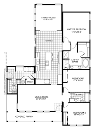 family room floor plans floor plan buckeye with family room homes simple house plans