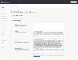Ssl Certificates Title Use Let U0027s Encrypt To Add An Ssl Certificate To Your Dreamhost
