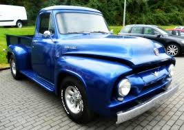 Ford Old Pickup Truck - free images vintage old blue oltimer pickup truck us car