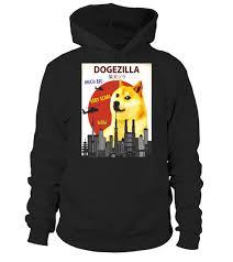 Doge Meme T Shirt - dogezilla t shirt funny doge meme shiba inu dog shirt hoodie