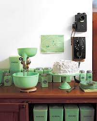 martha u0027s jadeite collection housewife kitchens and vintage