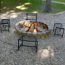 Pictures Of Patios With Fire Pits Sunnydaze Black Mesh Patio Fire Pit Bench U2013 Garden Bench