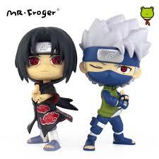 anime chibi mr froger action figures hatake kakashi uchiha itachi figure