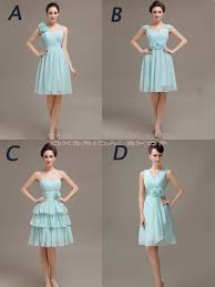 blue bridesmaid dresses short bridesmaid dresses mismatched
