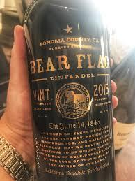 Bear Flag Revolt Smoking New Wines Oregon Pinot Sonoma Zin Brunello White