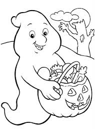 ghost halloween coloring pages coloring