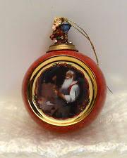 norman rockwell ornament ebay