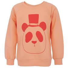 mini rodini panda print sweatshirt alexandalexa