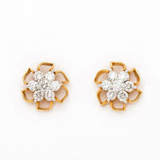 real diamond earrings shop real diamond earrings on wanelo