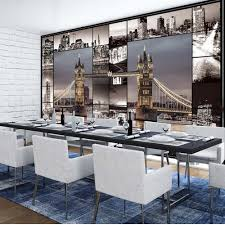 Dining Room Murals High Quality City Mural Wallpaper Buy Cheap City Mural Wallpaper