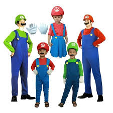 Mario Costumes Halloween Halloween Super Mario Costume Party Cosplay Kids