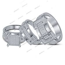 jcpenney wedding ring sets wedding rings jcpenney trio wedding rings unique matching