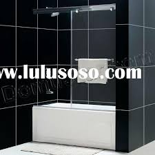 Sliding Bathtub Shower Doors Frameless Bathtub Doors Bathroom Design