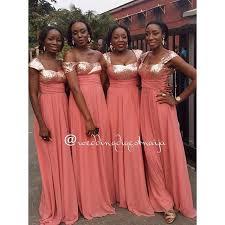 coral and gold bridesmaid dresses africa wedding coral bridesmaid dress