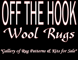 Hand Hooked Rug Kits Off The Hook Wool Rugs