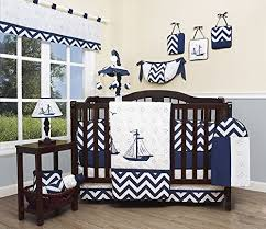 Seashell Crib Bedding Baby Nautical Explorer 13 Nursery Crib Bedding Set