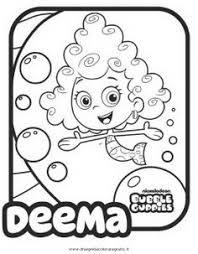 pin brian hans coloring kids bubble guppies