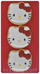 how to make a hello kitty cookie suz daily