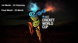 Cricket World Cup Table Icc Cricket World Cup 2015 Match Schedule U0026 Time Table