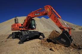 doosan updates dx140w wheel excavator with t4i engine work modes