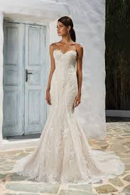 fit and flare wedding dress style 8862 sequined lace fit and flare wedding dress justin
