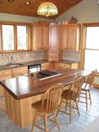Kitchen Island Wood Countertop 8 Best Wood Countertops With Stoves Images On Pinterest Kitchen