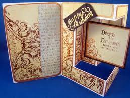 492 fancy fold insert card cup694953 1415 craftsuprint
