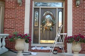 exterior natural brown paint color front door design ideas best