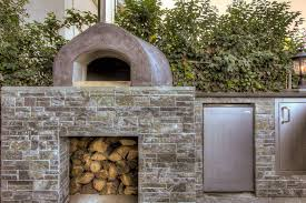 Pizza Oven Outdoor Fireplace by Outdoor Fireplace Pizza Oven Combo Patio Traditional With Firewood