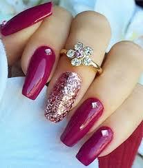 best 25 dark pink nails ideas on pinterest rock nails summer