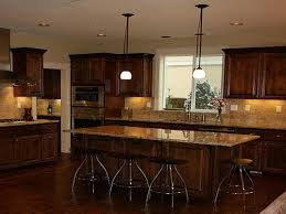 Black Kitchen Cabinets What Color On Wall Attractive Dark Kitchen Color Schemes