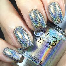 holographic stamping on holo polish keely u0027s nails
